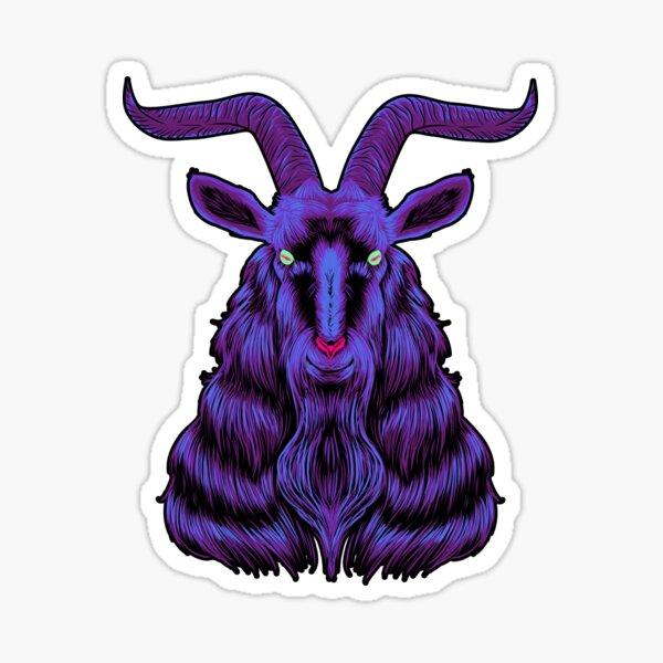 Space Goat Sticker