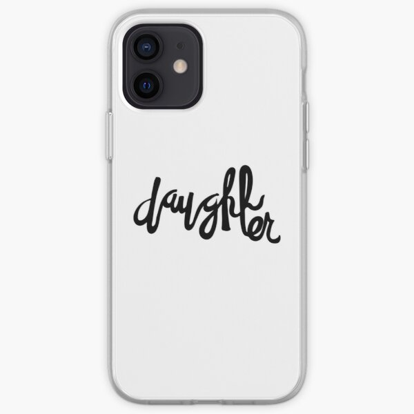 Daughter   Family hand lettering iPhone Soft Case