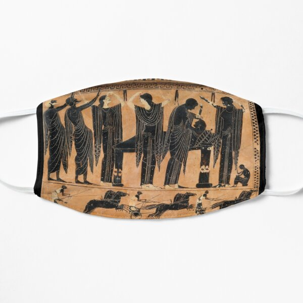 Terracotta funerary plaque Mask