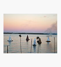 Sunset Kilns Photographic Print