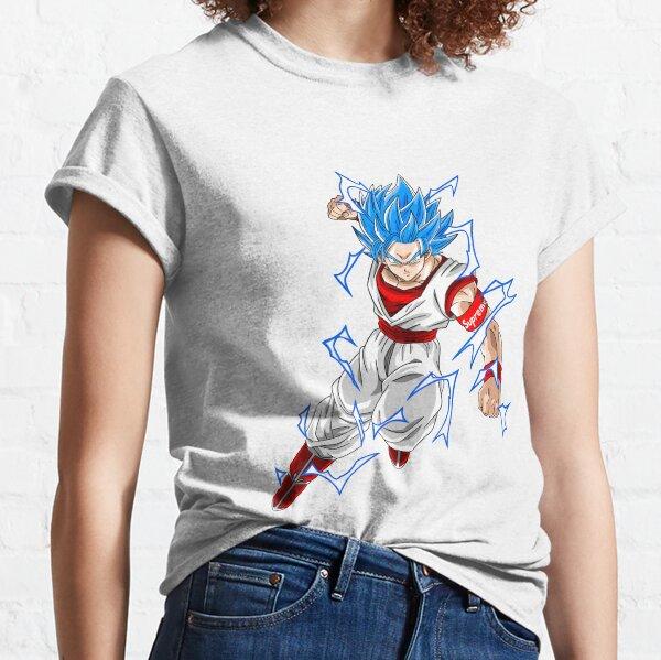 Supreme Goku SSJ Blue T-shirt classique