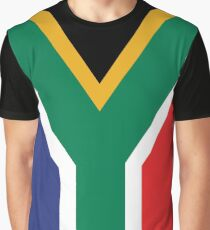 South Africa Flag Graphic T-Shirt