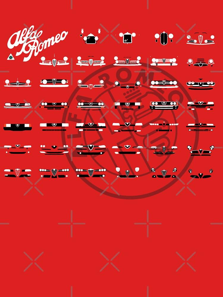 TShirtGifter presents: Alfa Romeo Family | Unisex T-Shirt
