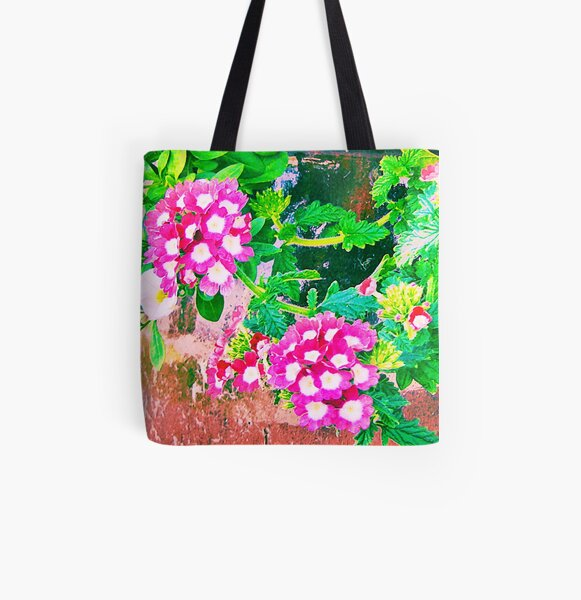 Potted Polka-dots! All Over Print Tote Bag