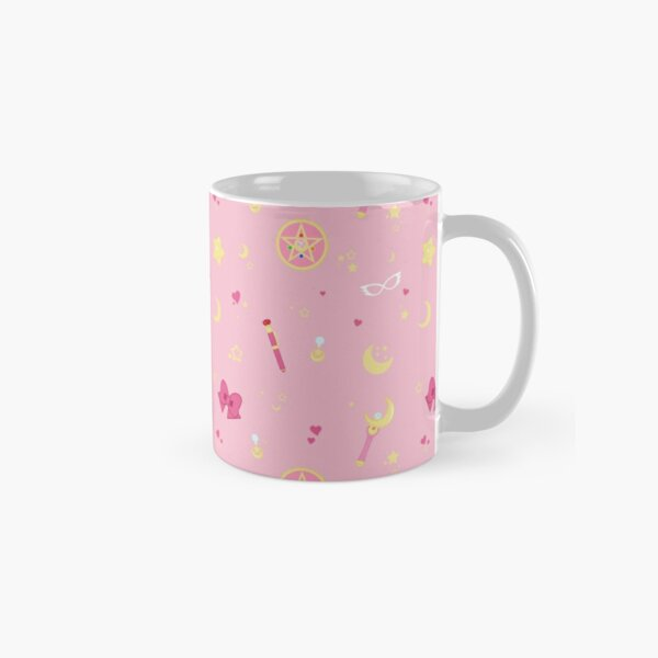 Sailor Moon Pattern Classic Mug