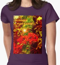 CLERODENDRUM SPECIOSISSIMUM Womens Fitted T-Shirt