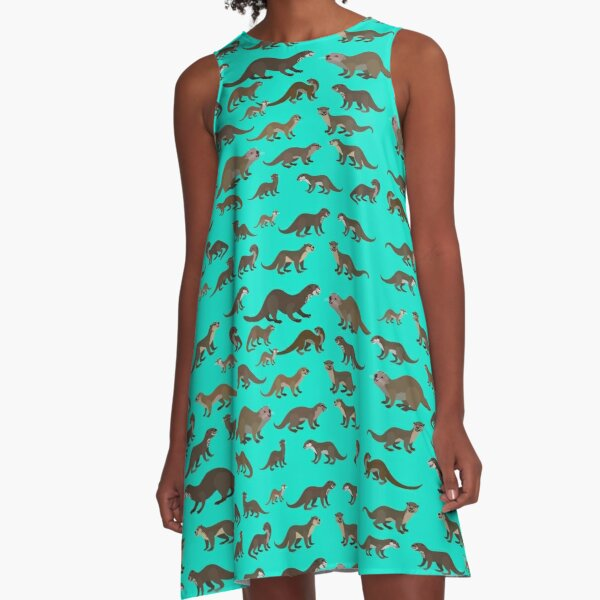 Know Your Otters A-Line Dress