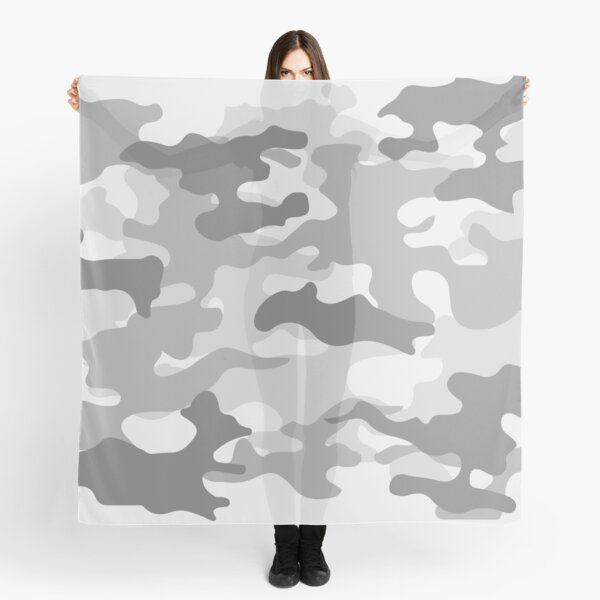 Winter Camo Scarf