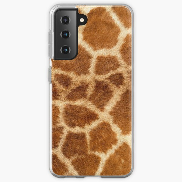 GIRAFFE SKIN PATTERN Samsung Galaxy Soft Case
