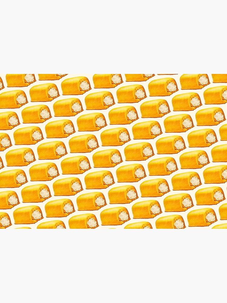 Yellow American Snack Cake Pattern by KellyGilleran