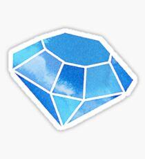Pegatina Acuarela Diamante