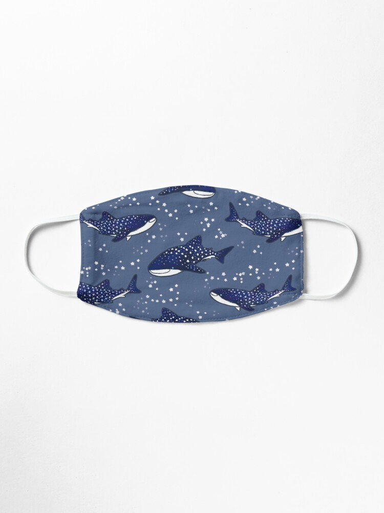 Alternate view of Starry Whale Sharks (Dark version) Mask
