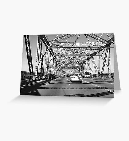 The Brisbane Storey Bridge Greeting Card