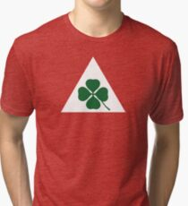 Quadrifoglio Classic Alfa Romeo Tri-blend T-Shirt