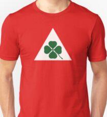 Quadrifoglio Klassischer Alfa Romeo Slim Fit T-Shirt