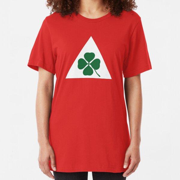 Quadrifoglio Classic Alfa Romeo Slim Fit T-Shirt