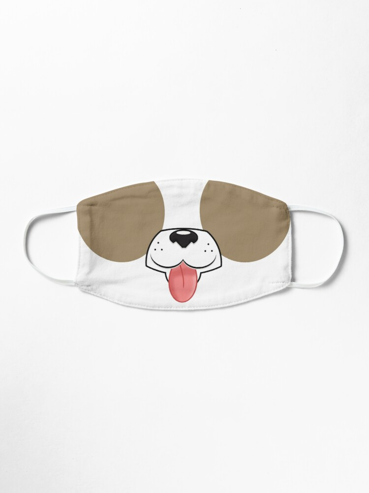 Cartoon Dog Face Mask Mask By Mcelroystudios Redbubble