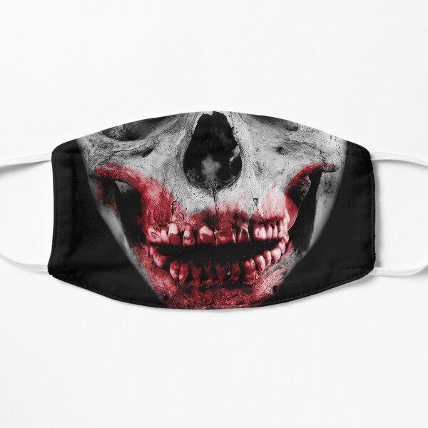 Zombie Skull Face Flat Mask