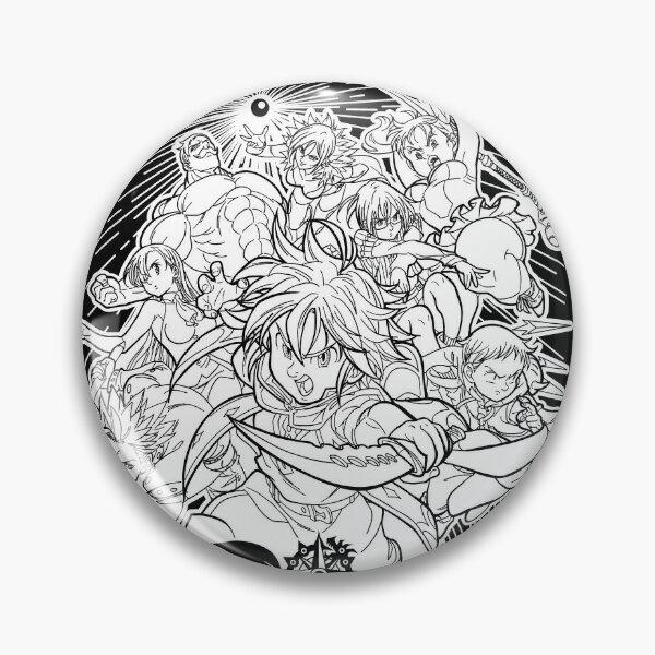 Deadly warrior Pin