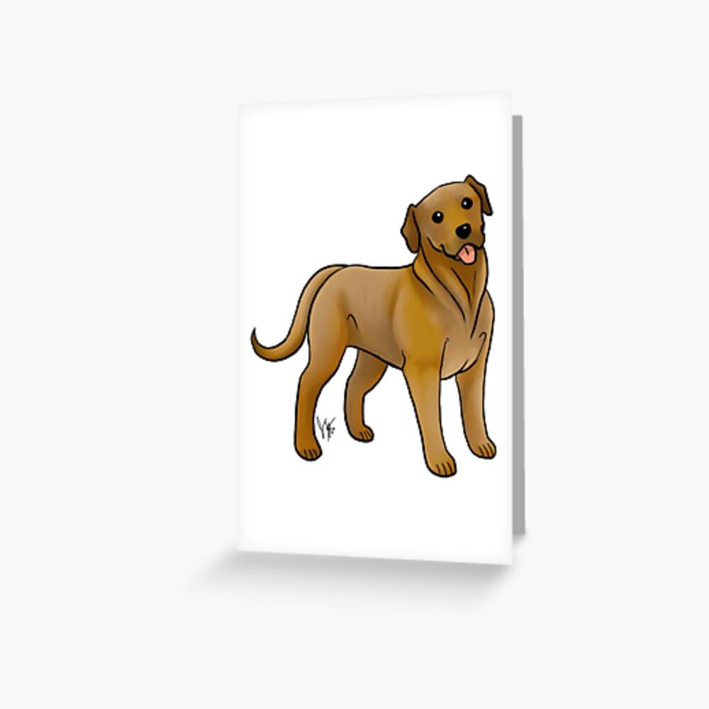 Broholmer Greeting Card
