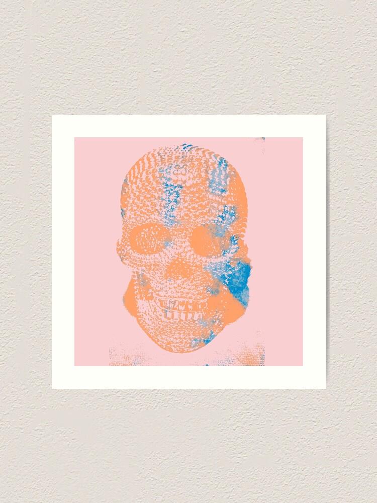 Alternate view of Skull V Art Print