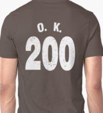 Team shirt - 200 O.K., white letters T-Shirt