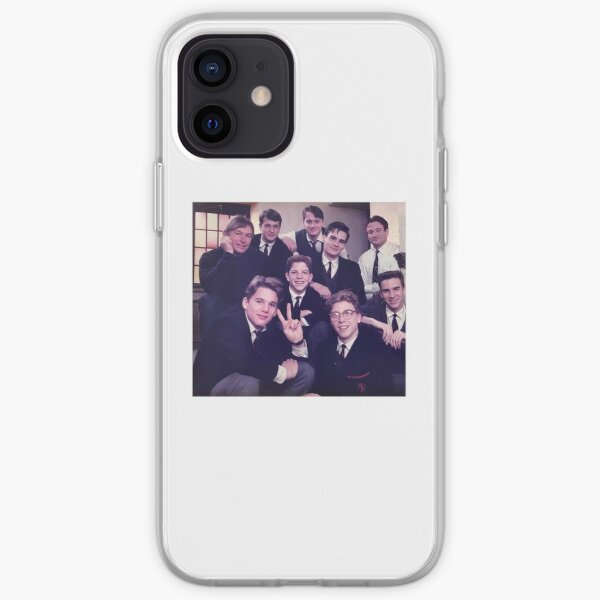 Dead Poets Society Sticker  iPhone Soft Case