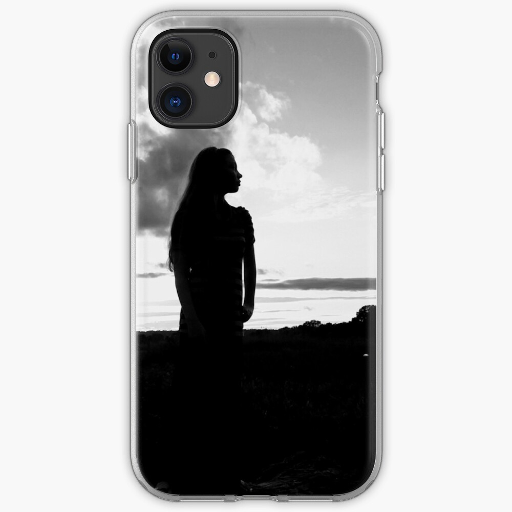 Young Lady at Sunset iPhone Case & Cover