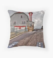 Cape Forchu HDR  - Yarmouth NS Throw Pillow