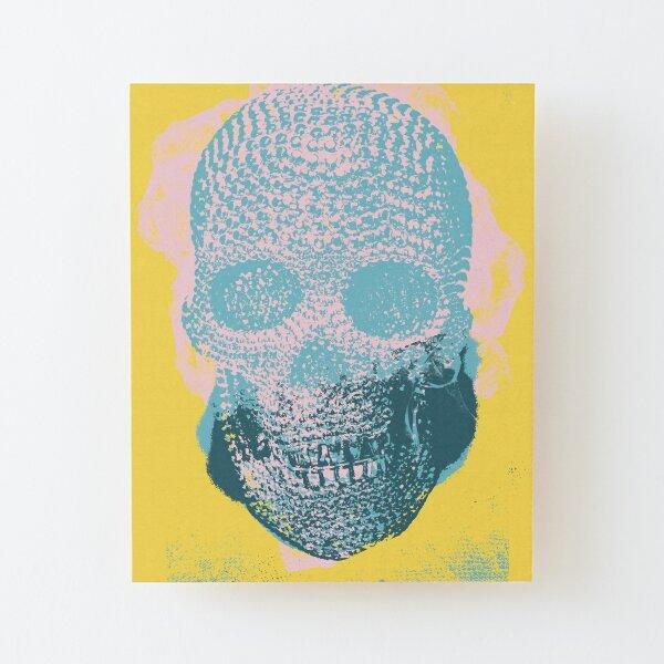 Skull IV Wood Mounted Print