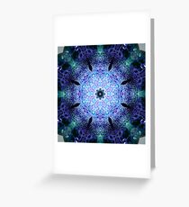 Paperweight Kaleidoscope Greeting Card