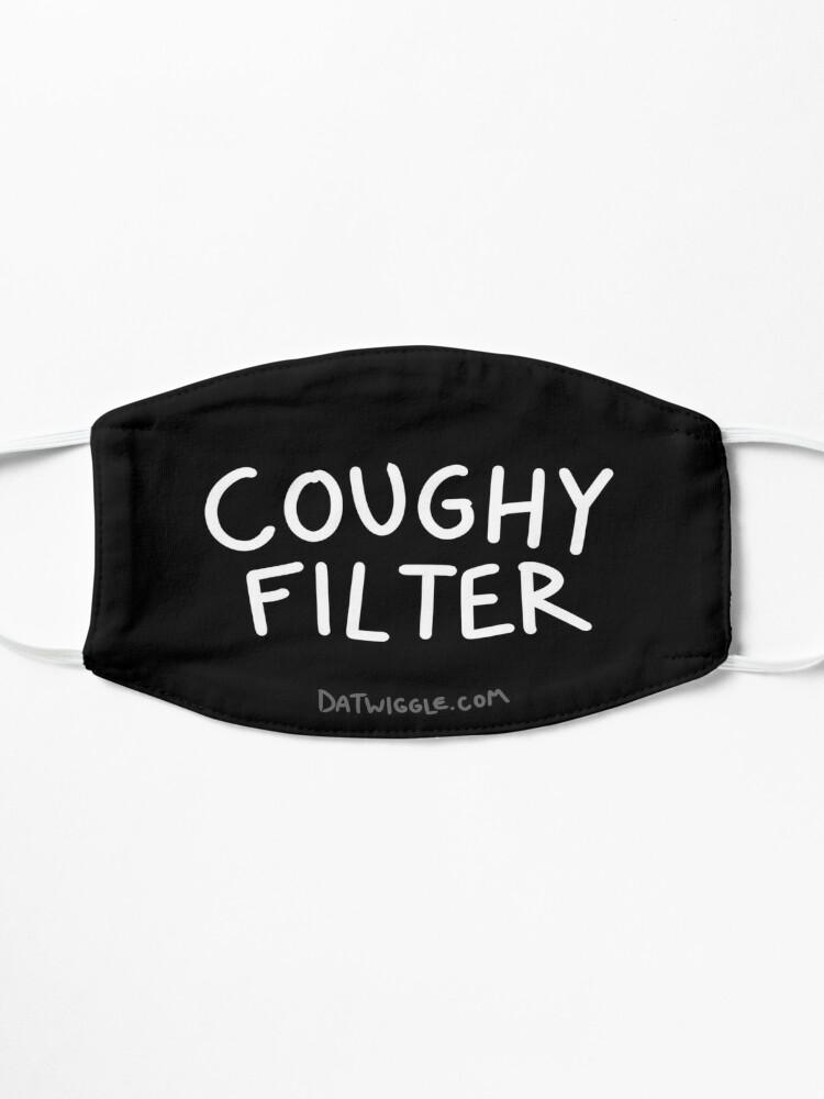 Alternative Ansicht von Hustenfilter auf Schwarz Maske