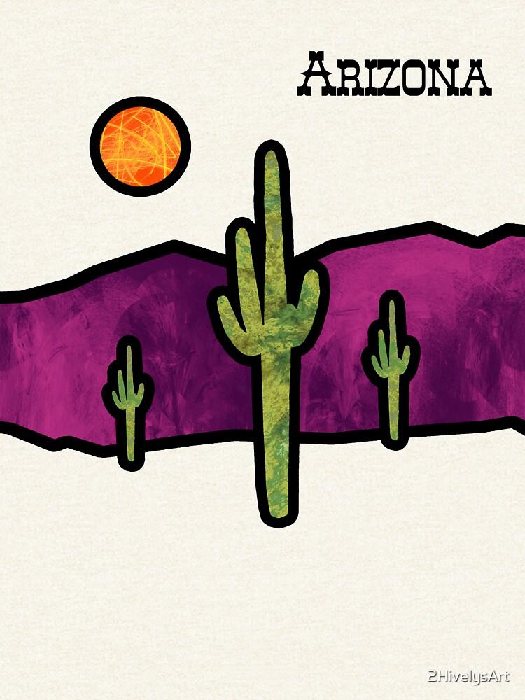Vidriera del desierto de 2HivelysArt