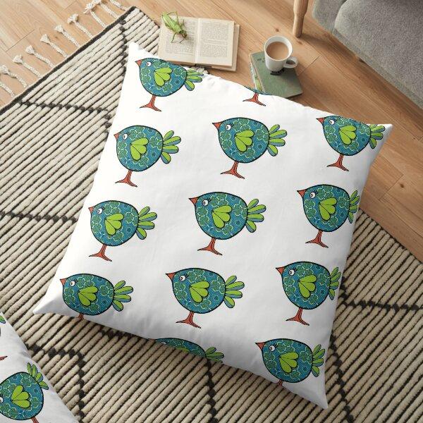 Birds of a Feather 20 Floor Pillow