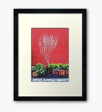 Red... Framed Print