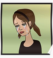 Crying Poster