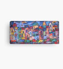 panoramic rome Canvas Print