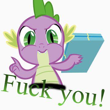 Spike F***s you! by Knusperklotz