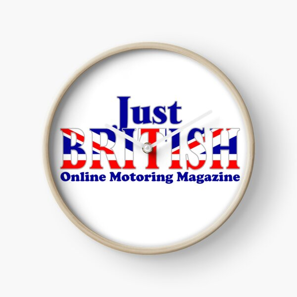 Just British Online Motoring Magazine Clock