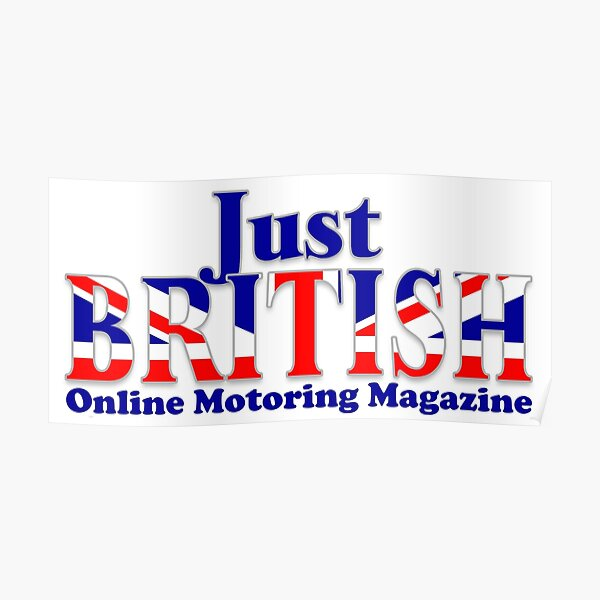 Just British Online Motoring Magazine Poster