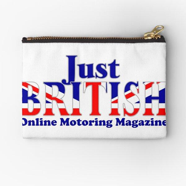 Just British Online Motoring Magazine Zipper Pouch