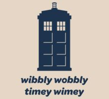 Wibbly Wobbly Timey Wimey Shirt (Lighter Colors)