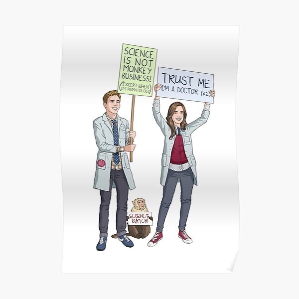 Fitzsimmons - Science March Poster