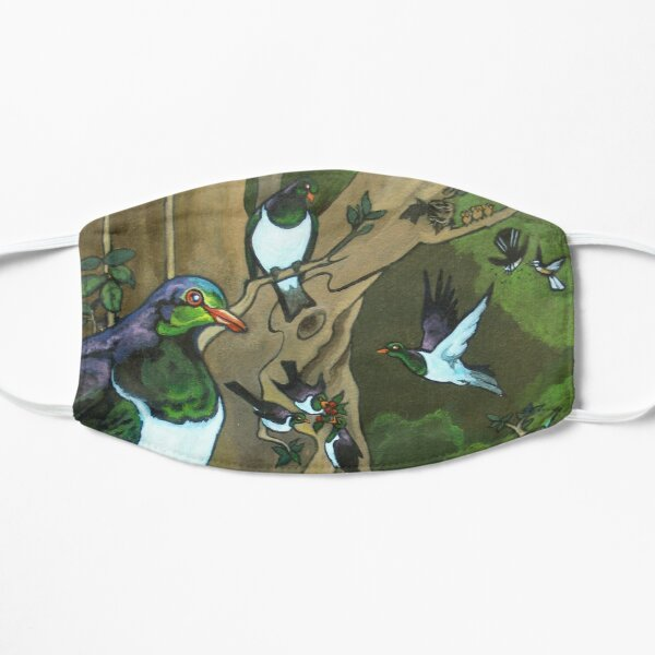 Pigeons, Parakeets and Fantails Mask