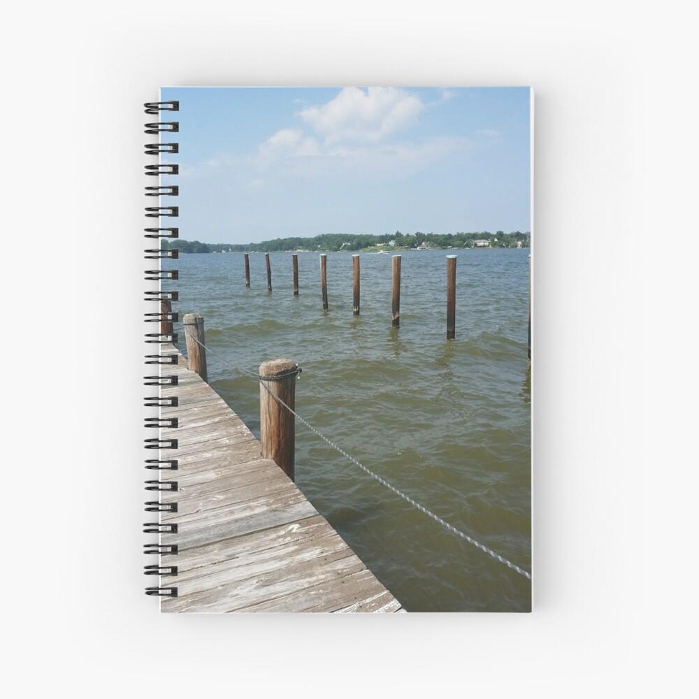 South River Dock Spiral Notebook