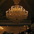 Grand Chandelier in the Ballroom, The Venetian, Garfield NJ by Jane Neill-Hancock