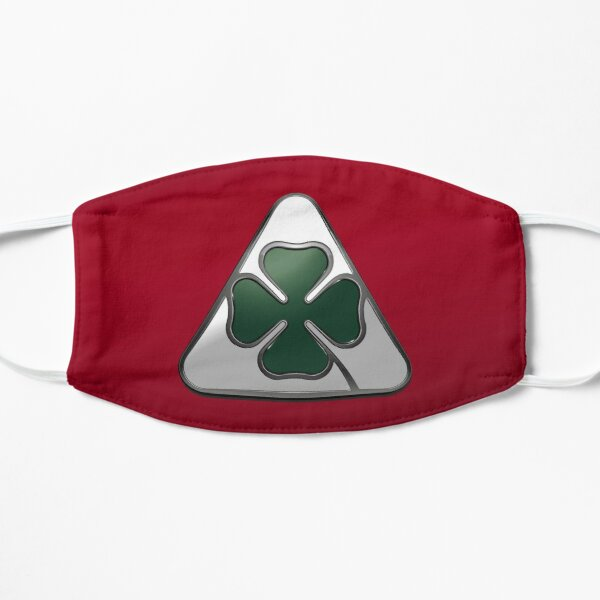Alfa Romeo GTA Quadrifoglio Monogram Design Flat Mask