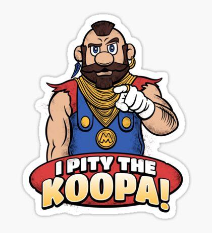 I Pity The Koopa! Sticker