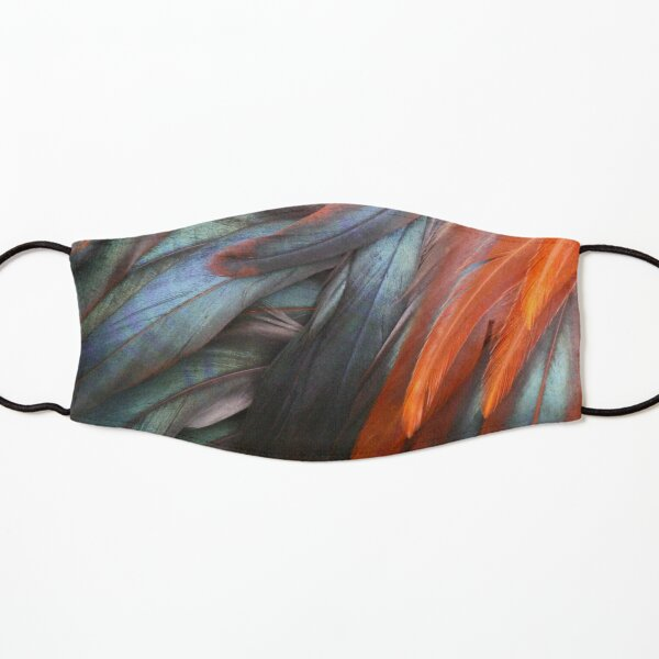 Feathers - Nature's Abstract Kids Mask