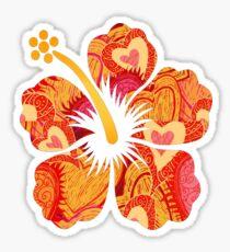 Fun Time Hibiscus Sticker